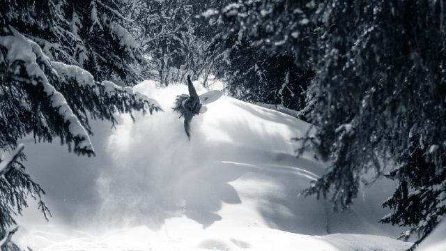 snowboard-hors-piste-foret